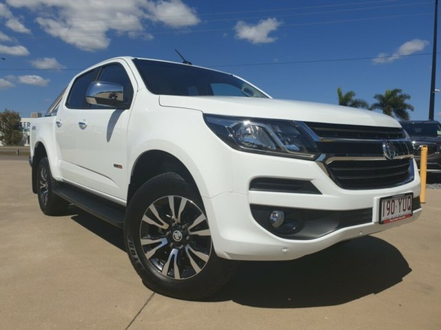 Used Holden Colorado RG MY19 LTZ Pickup Space Cab, 2019 Holden Colorado RG MY19 LTZ Pickup Space Cab Summit White 6 Speed Sports Automatic Utility