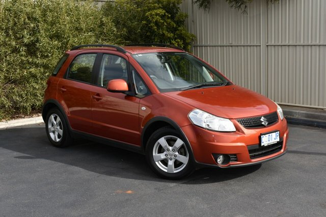 Used Suzuki SX4 GYA MY10 S, 2011 Suzuki SX4 GYA MY10 S Red/Black 6 Speed Constant Variable Hatchback