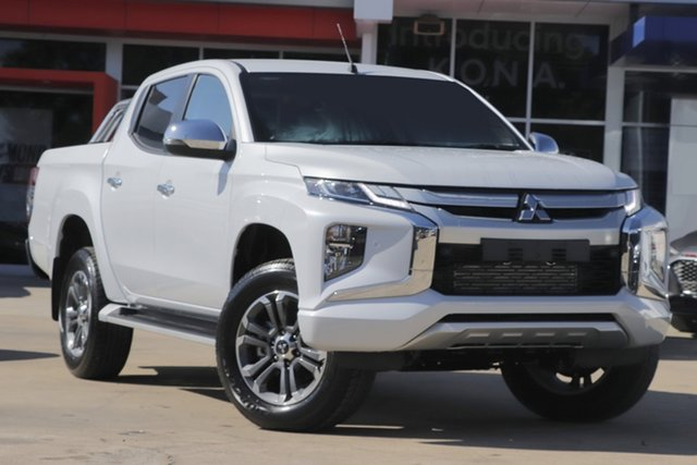 Demo Mitsubishi Triton MR MY19 GLS Double Cab, 2018 Mitsubishi Triton MR MY19 GLS Double Cab White Diamond 6 Speed Sports Automatic Utility