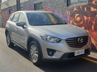 2015 Mazda CX-5 KE1032 Maxx SKYACTIV-Drive AWD Sport Silver 6 Speed Sports Automatic Wagon.