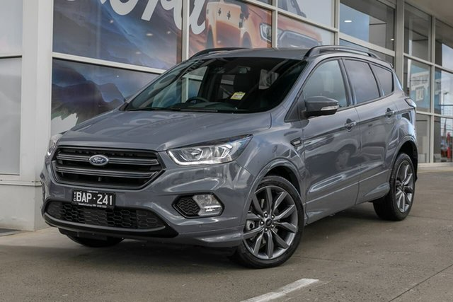 Demo Ford Escape ZG 2019.25MY ST-Line AWD, 2019 Ford Escape ZG 2019.25MY ST-Line AWD Grey 6 Speed Sports Automatic Wagon