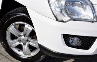 2010 Kia Sportage KM2 MY10 LX Clear White 4 Speed Automatic Wagon.