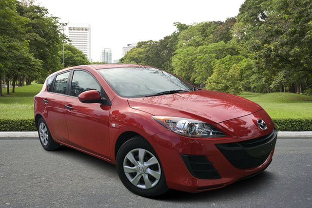 Used Mazda 3 BL10F1 Neo Activematic, 2010 Mazda 3 BL10F1 Neo Activematic Red 5 Speed Sports Automatic Hatchback