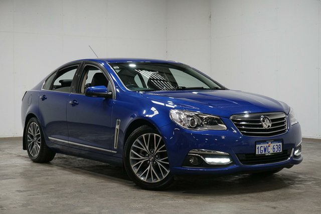 Used Holden Calais VF II MY16 , 2016 Holden Calais VF II MY16 Blue 6 Speed Sports Automatic Sedan