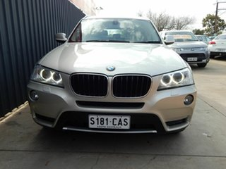 2011 BMW X3 F25 xDrive20d Steptronic Silver 8 Speed Automatic Wagon.