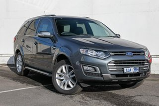 2015 Ford Territory SZ MkII TS Seq Sport Shift Grey 6 Speed Sports Automatic Wagon.