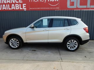 2011 BMW X3 F25 xDrive20d Steptronic Silver 8 Speed Automatic Wagon