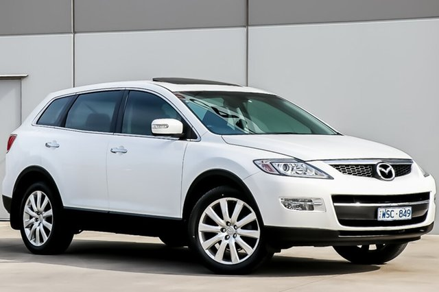 Used Mazda CX-9 TB10A1 Luxury, 2008 Mazda CX-9 TB10A1 Luxury White, Crystal Pearl 6 Speed Sports Automatic Wagon