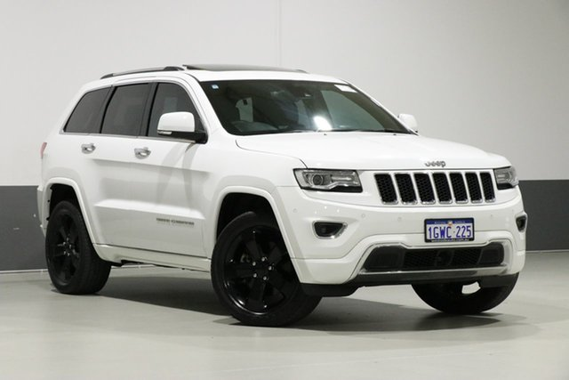 Used Jeep Grand Cherokee WK MY15 Overland (4x4), 2016 Jeep Grand Cherokee WK MY15 Overland (4x4) White 8 Speed Automatic Wagon