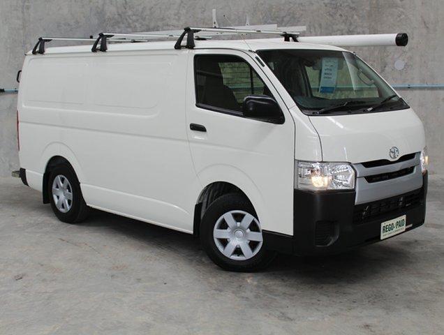 Used Toyota HiAce KDH201R LWB, 2016 Toyota HiAce KDH201R LWB White 4 Speed Automatic Van