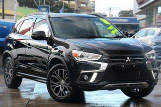 2019 Mitsubishi ASX XC MY19 LS 2WD Black 6 Speed Constant Variable Wagon.