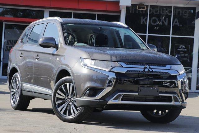Demo Mitsubishi Outlander ZL MY19 ES 2WD, 2019 Mitsubishi Outlander ZL MY19 ES 2WD Ironbark 6 Speed Constant Variable Wagon