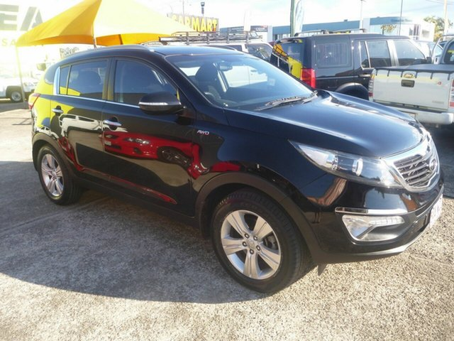 Used Kia Sportage SL MY12 SLi, 2012 Kia Sportage SL MY12 SLi Black 6 Speed Sports Automatic Wagon