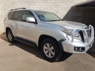 2015 Toyota Landcruiser Prado GDJ150R MY16 GXL (4x4) Silver 6 Speed Manual Wagon.