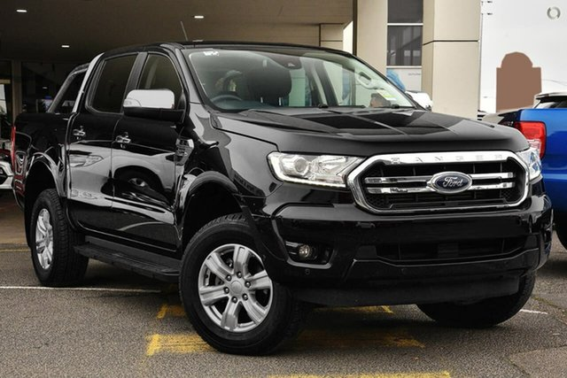Demo Ford Ranger PX MkIII 2019.00MY XLT Pick-up Double Cab, 2019 Ford Ranger PX MkIII 2019.00MY XLT Pick-up Double Cab Black 10 Speed Sports Automatic Utility