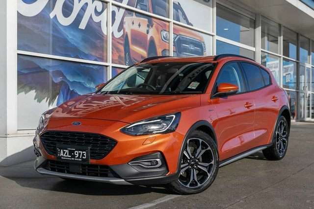 Demo Ford Focus SA 2019.25MY Active, 2019 Ford Focus SA 2019.25MY Active Orange 8 Speed Automatic Hatchback