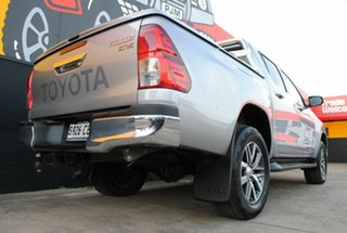 2015 Toyota Hilux GUN126R SR5 Double Cab Silver Sky 6 Speed Sports Automatic Utility