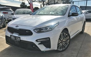 2019 Kia Cerato BD MY19 GT DCT Snow White Pearl 7 Speed Sports Automatic Dual Clutch Hatchback.