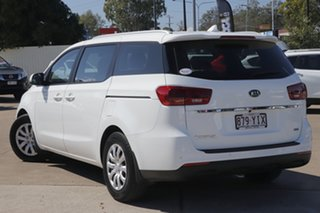 2018 Kia Carnival YP MY19 S Clear White 8 Speed Sports Automatic Wagon.
