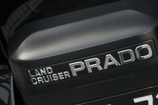 2017 Toyota Landcruiser Prado GDJ150R GXL Ebony 6 Speed Sports Automatic Wagon