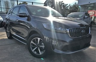 2018 Kia Sorento UM MY19 AO Edition AWD Graphite 8 Speed Sports Automatic Wagon.