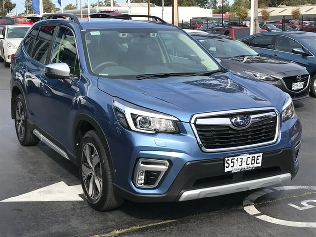 Demo Subaru Forester S5 MY19 2.5i-S CVT AWD, 2019 Subaru Forester S5 MY19 2.5i-S CVT AWD Horizon Blue 7 Speed Constant Variable Wagon