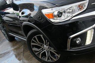 2019 Mitsubishi ASX XC MY19 LS (2WD) Black Continuous Variable Wagon.