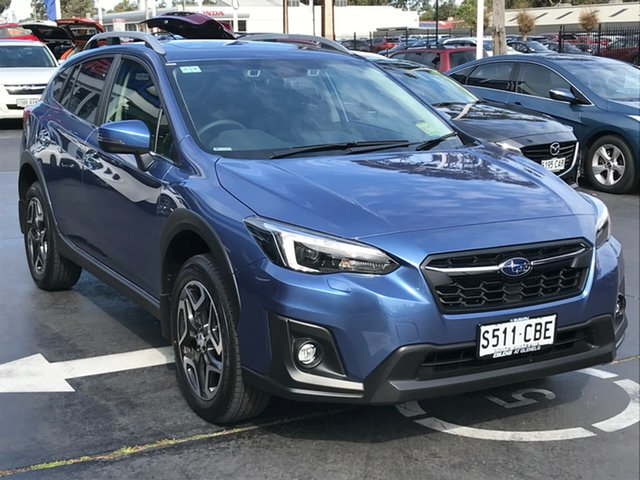 Demo Subaru XV G5X MY19 2.0i-S Lineartronic AWD, 2019 Subaru XV G5X MY19 2.0i-S Lineartronic AWD Quartz Blue 7 Speed Constant Variable Wagon