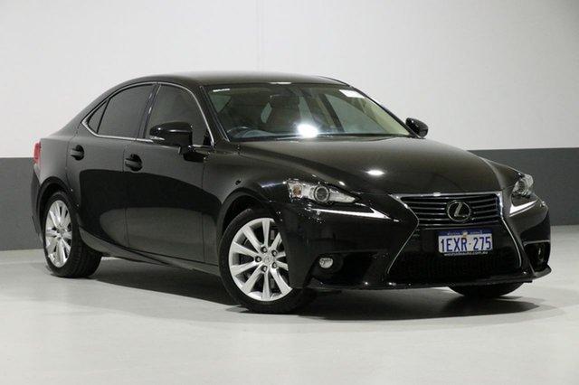 Used Lexus IS250 GSE30R MY15 Luxury, 2015 Lexus IS250 GSE30R MY15 Luxury Black 6 Speed Automatic Sedan