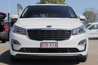 2018 Kia Carnival YP MY19 S Clear White 8 Speed Sports Automatic Wagon
