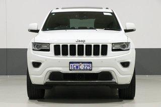 2016 Jeep Grand Cherokee WK MY15 Overland (4x4) White 8 Speed Automatic Wagon.
