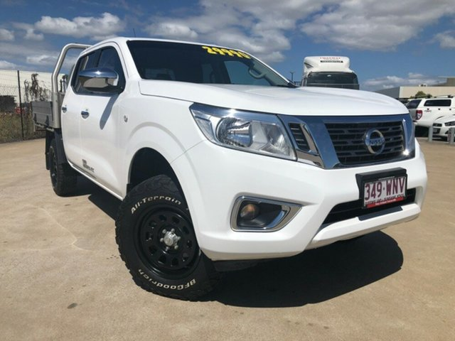 Used Nissan Navara D23 RX, 2016 Nissan Navara D23 RX White 6 Speed Manual Cab Chassis