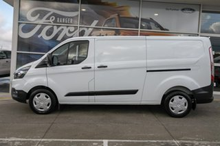 2018 Ford Transit Custom VN 2018.75MY 340L Low Roof LWB White 6 Speed Automatic Van.