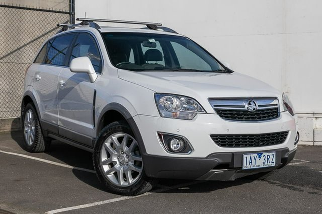 Used Holden Captiva CG MY14 5 LT, 2013 Holden Captiva CG MY14 5 LT White 6 Speed Manual Wagon
