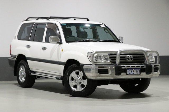 Used Toyota Landcruiser UZJ100R Upgrade II GXL (4x4), 2007 Toyota Landcruiser UZJ100R Upgrade II GXL (4x4) White 5 Speed Automatic Wagon