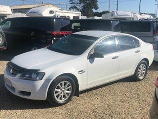 2007 Holden Commodore VE LPG/Petrol White Automatic Sedan.