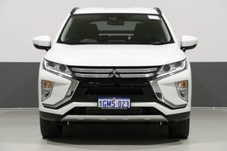 2018 Mitsubishi Eclipse Cross YA MY18 LS (2WD) White Continuous Variable Wagon.