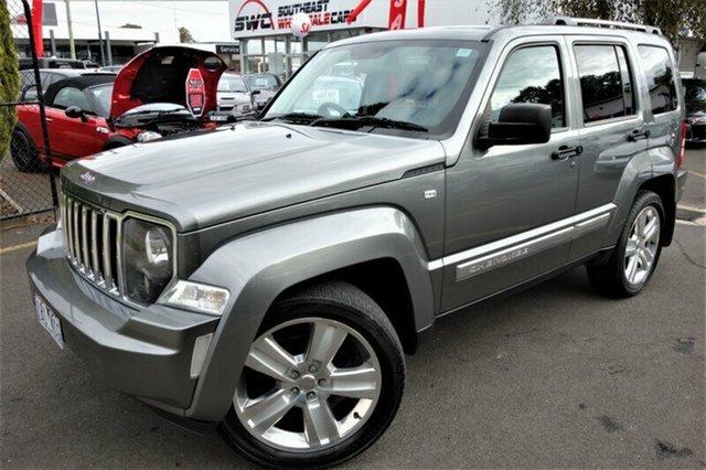 Used Jeep Cherokee KK MY12 Limited, 2012 Jeep Cherokee KK MY12 Limited Grey 4 Speed Automatic Wagon