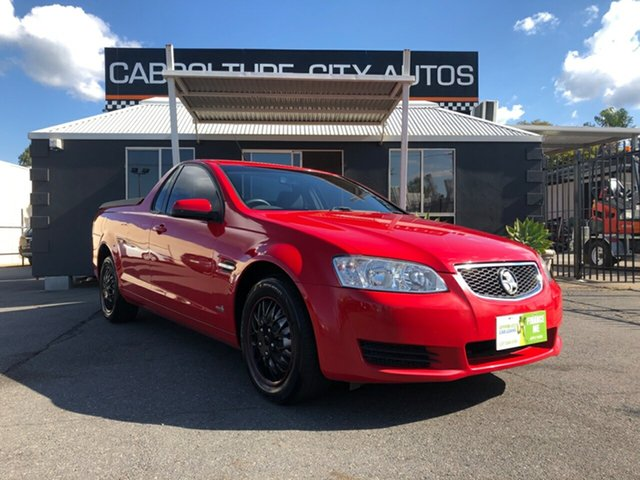 Used Holden Ute VE II MY12 Omega, 2011 Holden Ute VE II MY12 Omega Red 6 Speed Sports Automatic Utility