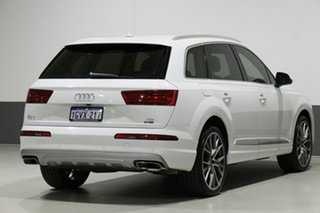 2017 Audi Q7 4M MY18 3.0 TDI Quattro (160kW) White 8 Speed Automatic Tiptronic Wagon