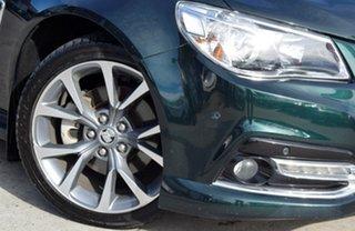 2013 Holden Commodore VF MY14 SS V Sportwagon Green 6 Speed Sports Automatic Wagon.