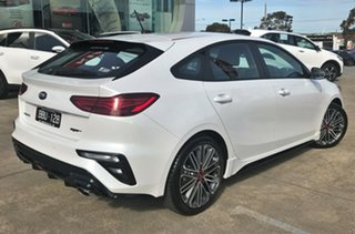 2019 Kia Cerato BD MY19 GT DCT Snow White Pearl 7 Speed Sports Automatic Dual Clutch Hatchback