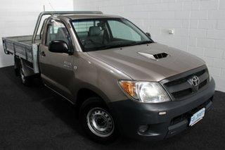 2005 Toyota Hilux KUN16R MY05 SR 4x2 Dusty Grey/grey 5 Speed Manual Cab Chassis.