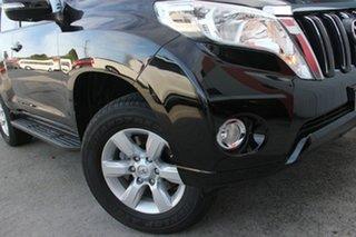 2017 Toyota Landcruiser Prado GDJ150R GXL Ebony 6 Speed Sports Automatic Wagon.