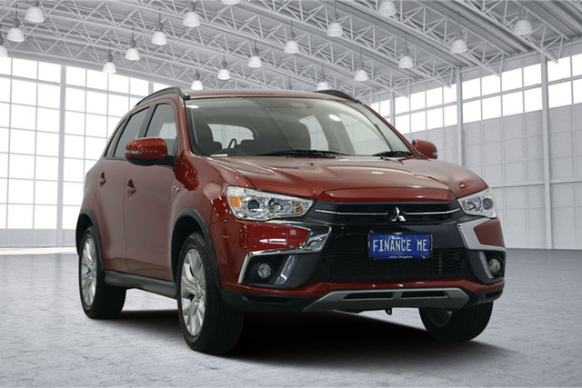 Used Mitsubishi ASX XC MY19 ES 2WD ADAS, 2019 Mitsubishi ASX XC MY19 ES 2WD ADAS Red 6 Speed Constant Variable Wagon