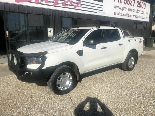 Used Ford Ranger  , 2015 Ford Ranger MY16 PX2 White Automatic Dual Cab