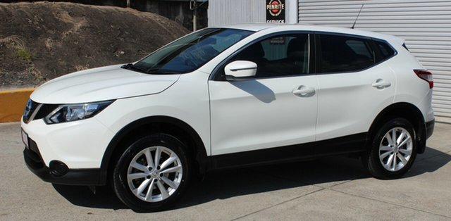 Used Nissan Qashqai J11 ST, 2015 Nissan Qashqai J11 ST White 6 Speed Manual Wagon