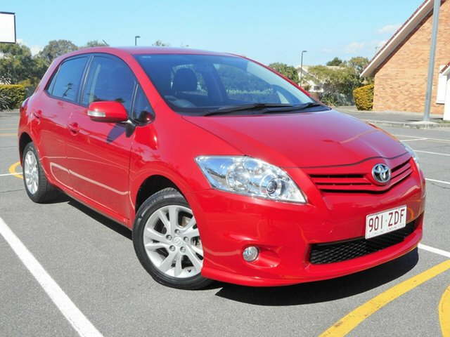 Used Toyota Corolla ZRE152R MY11 Ascent Sport, 2011 Toyota Corolla ZRE152R MY11 Ascent Sport Red 6 Speed Manual Hatchback