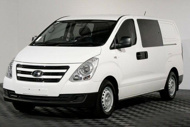 Used Hyundai iLOAD TQ3-V Series II MY16 Crew Cab, 2016 Hyundai iLOAD TQ3-V Series II MY16 Crew Cab White 5 Speed Automatic Van