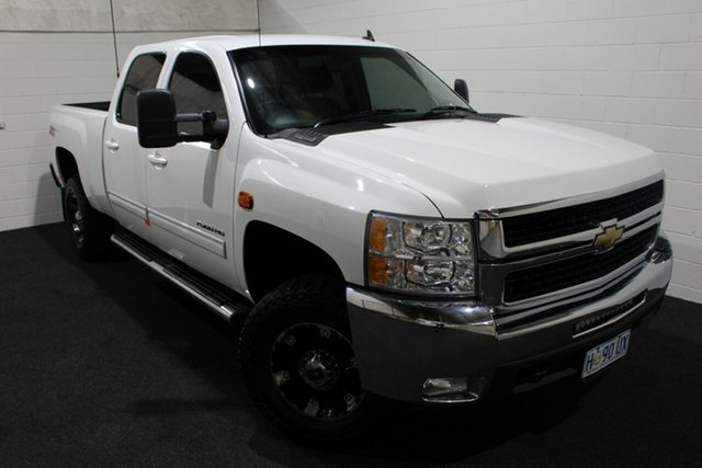 Used Chevrolet Silverado C/K25 2500HD Pickup Crew Cab LTZ, 2019 Chevrolet Silverado C/K25 2500HD Pickup Crew Cab LTZ White 6 Speed Automatic Utility